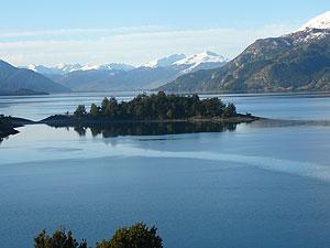 Vista del Lago General Carrera