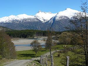 Valles como este quedar�an inundados por los proyectos de ENDESA.