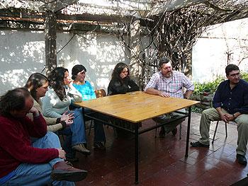 Reunión de trabajo en Greenpeace Chile