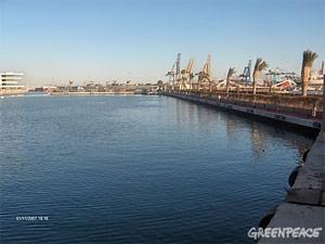 Situación del Puerto de Valencia a 1 de noviembre de 2007