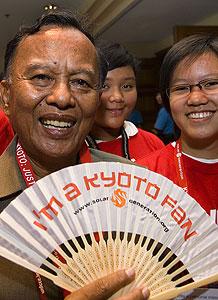 Rachmat Witoelar, presidente de la Conference of Parties of UNFCCC