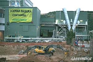 Acción de Greenpeace en Son Reus (Mallorca)/ Pedro Armestre