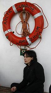 Sara del R�o, responsable de la campaña de Contaminación de Greenpeace/ Pedro Armestre