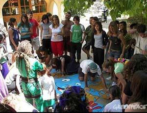 Campamentos de verano de Greenpeace 2008