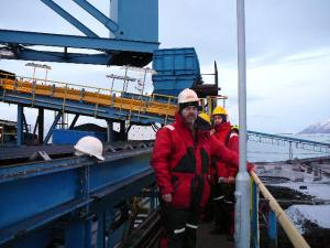 Juan López de Uralde en Svalbard