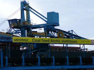 Acción de carbón en Svalbard/ J.L de Uralde